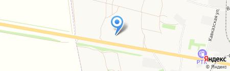 Volkswagen на карте Тамбова
