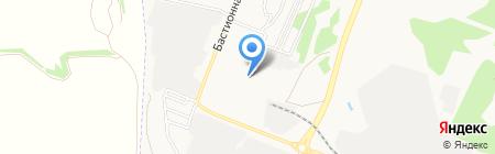 Желтый квадрат на карте Тамбова