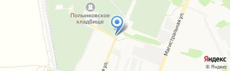 Тамбовская военно-мемориальная компания на карте Тамбова