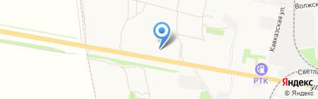 Тамбов-Авто-Сити на карте Тамбова