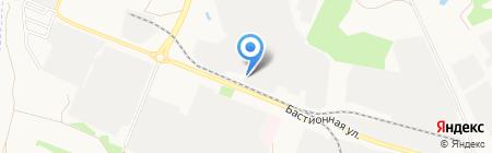 Мука на карте Тамбова