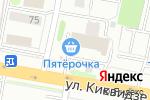 Схема проезда до компании Бюро переводов+ в Тамбове