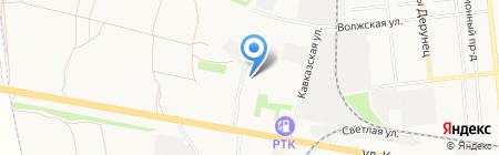 Ассорти на карте Тамбова