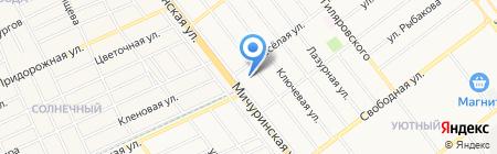 Северный на карте Тамбова