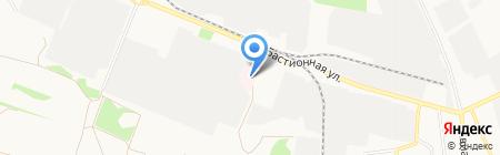 Такси-эконом на карте Тамбова
