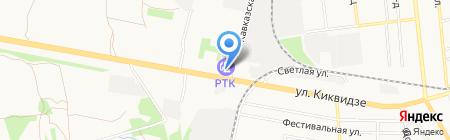 АЗС РОСОЙЛ на карте Тамбова