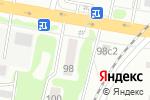 Схема проезда до компании Витара в Тамбове