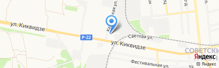 Магазин напольных покрытий на карте Тамбова
