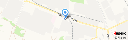 Колобок на карте Тамбова