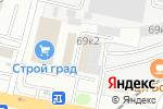 Схема проезда до компании Профи-Плюс в Тамбове