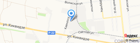 Центр авторазбора на карте Тамбова