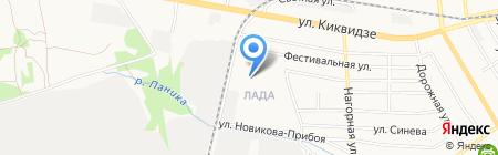 Библиотека №13 на карте Тамбова