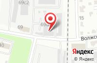 Схема проезда до компании Уран в Тамбове