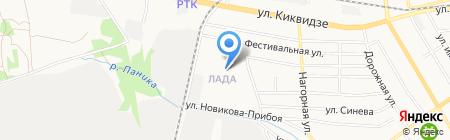 Эврика на карте Тамбова