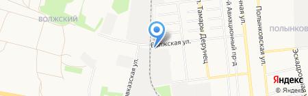Мостоотряд-81 на карте Тамбова