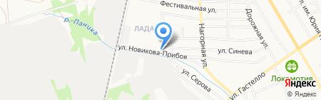 Магазин посуды и хозяйственных товаров на карте Тамбова