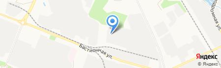 Моршанская табачная фабрика на карте Тамбова