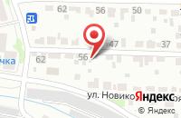 Схема проезда до компании Шале в Крымске