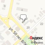 Магазин салютов Касимов- расположение пункта самовывоза