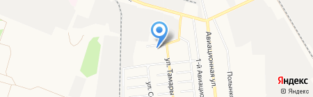 Звезда на карте Тамбова