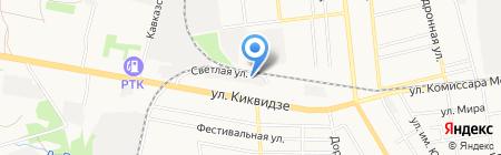 База колес на карте Тамбова