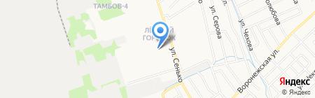Лайк 5+ на карте Тамбова