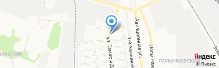 Тамбовский учколлектор на карте Тамбова