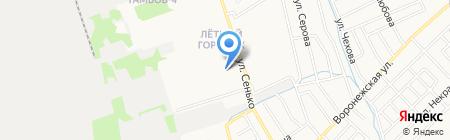Гарант на карте Тамбова