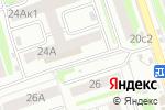 Схема проезда до компании Ювелирный салон в Тамбове