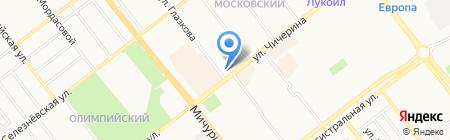 Бэби Клуб на карте Тамбова
