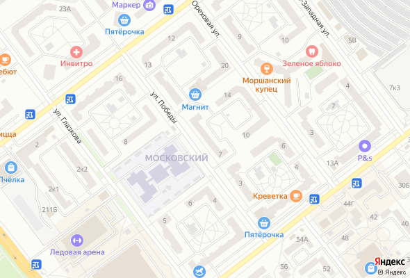 жилой комплекс ул. Победы, 7