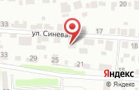 Схема проезда до компании В.И.П. Сервис в Крымске