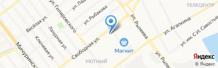 Nadin на карте Тамбова