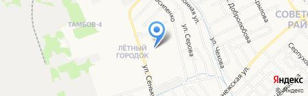 Средняя общеобразовательная школа №35 на карте Тамбова