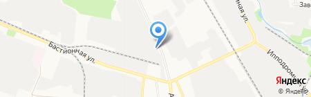 Тамбовский автотранспортный комбинат на карте Тамбова
