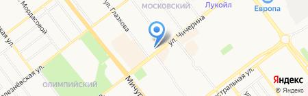 ТамбовЖилСервис на карте Тамбова