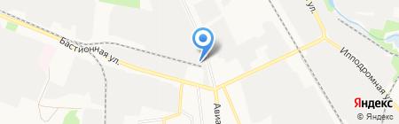 Металлпоставка на карте Тамбова