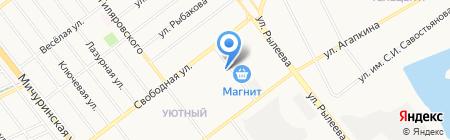 Современник на карте Тамбова