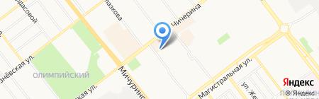 Карапузик на карте Тамбова