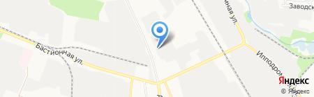 Тамбовская обувная фабрика на карте Тамбова