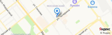 Грид на карте Тамбова