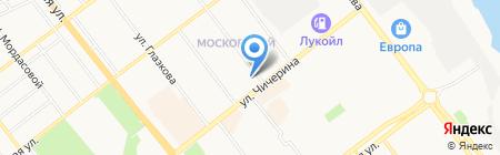 Стоматологическая клиника на Ореховой на карте Тамбова