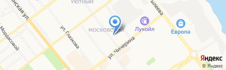 Дворик-Строй на карте Тамбова