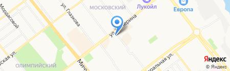 Пульс на карте Тамбова