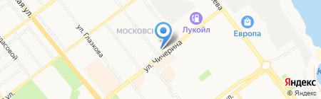 Идеал на карте Тамбова