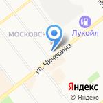 Торгово-монтажная фирма натяжных потолков на карте Тамбова