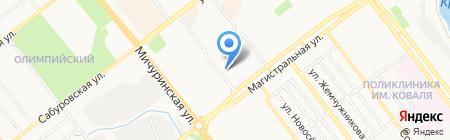Студия шугаринга Ольги Волконской на карте Тамбова