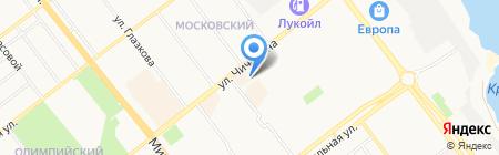 Стиль-Мари на карте Тамбова