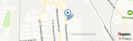 Мясной край на карте Тамбова
