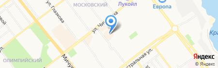 Mobile-Сервис на карте Тамбова